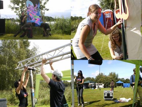 Volunteers - Collage